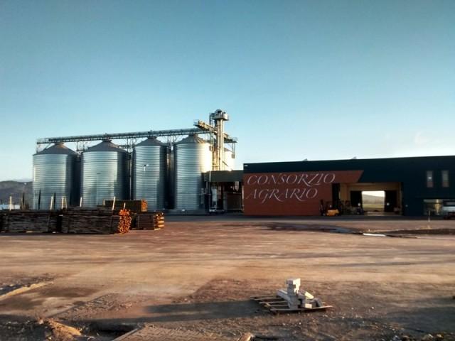 Impianto elettrico capannone industriale